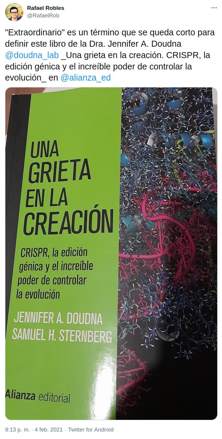 CRISPR: controlar la evolución
