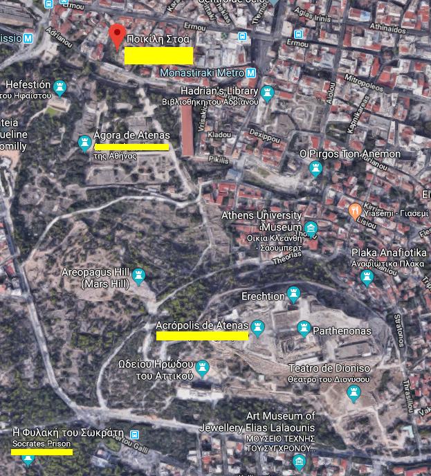 Atenas: Acrópolis, Ágora y Stoa Poikile