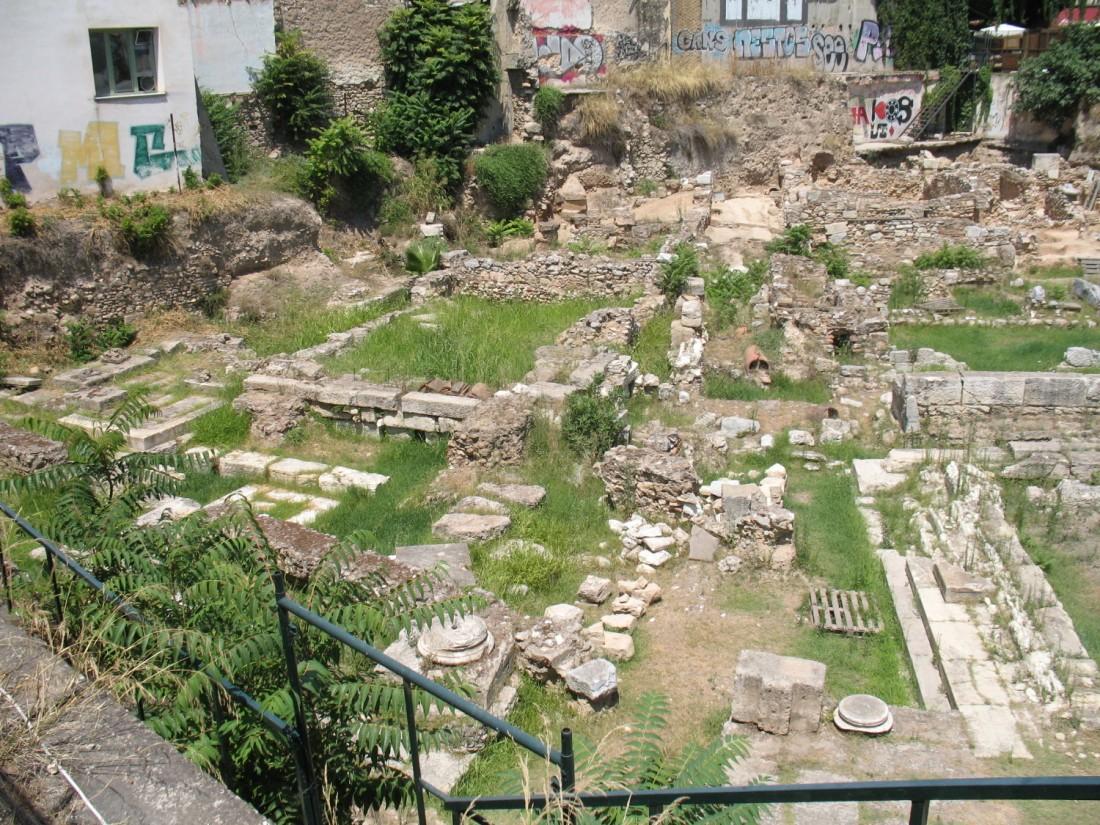 Ruinas de la STOA Poikile