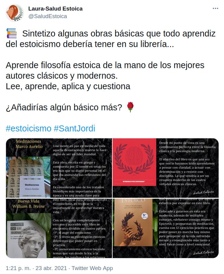 4 libros sobre estoicismo