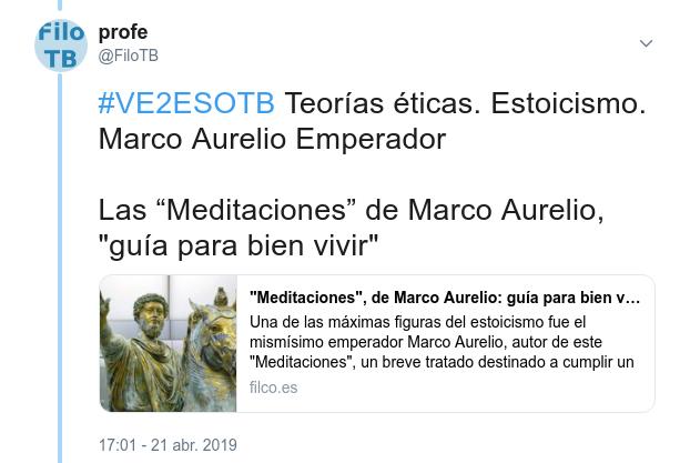 Marco Aurelio, en filco