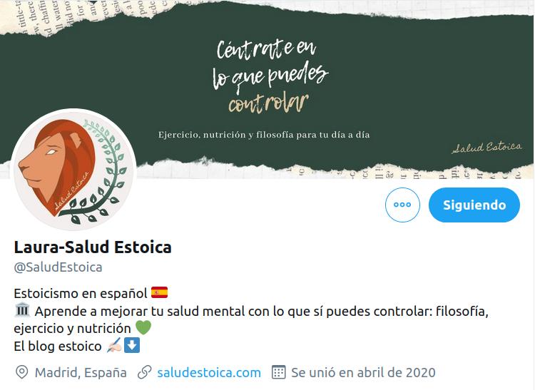 Salud Estoica Twitter