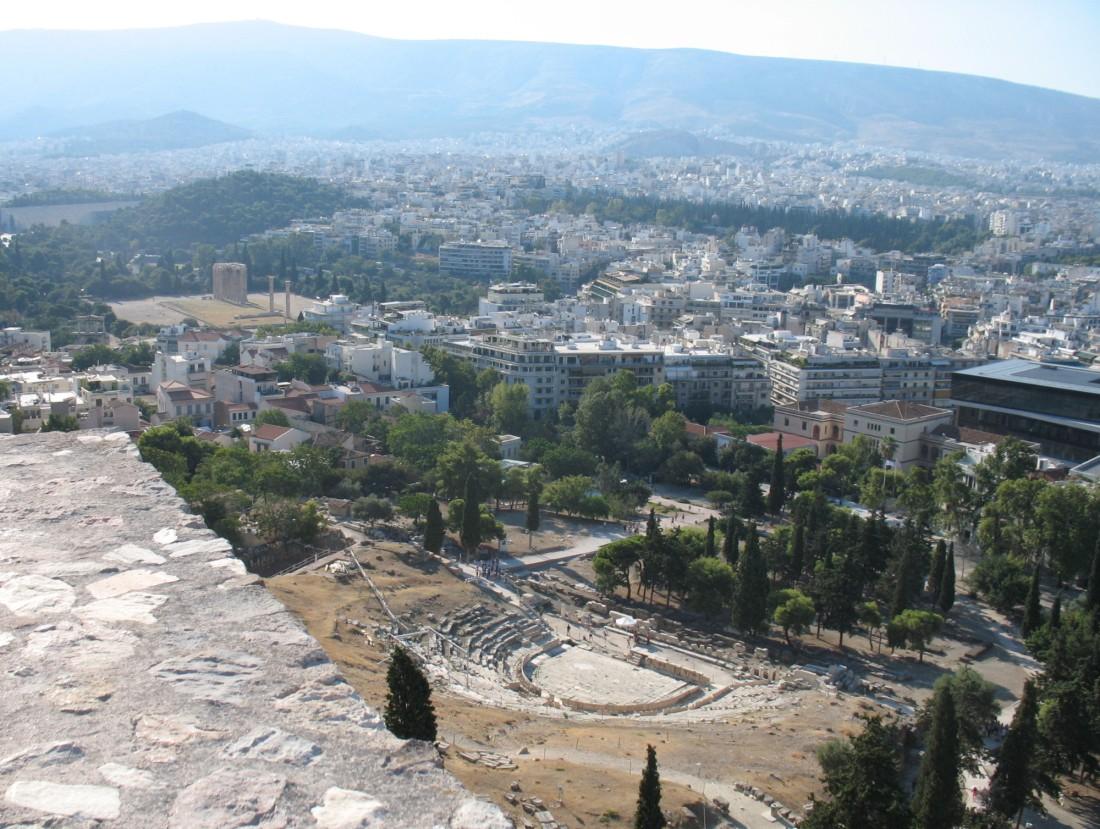 Teatro de Dioniso, junto a la Acrópolis